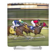 Love of the Sport Shower Curtain by Betsy C  Knapp