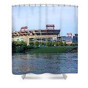 Lp Field Nashville Tennessee Shower Curtain by Kristin Elmquist