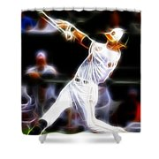 Magical Oriole Shower Curtain by Paul Van Scott