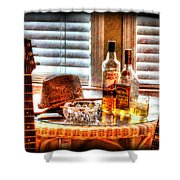 Making Music 001 Shower Curtain by Barry Jones