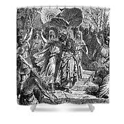 MARC ANTONY & CLEOPATRA Shower Curtain by Granger