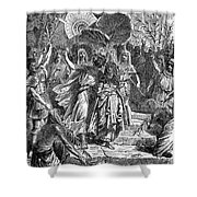 Marc Antony & Cleopatra Shower Curtain by Granger