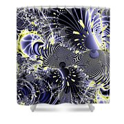 Mardi Gras . Square Shower Curtain by Wingsdomain Art and Photography