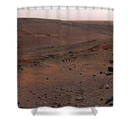 Mars Exploration Rover Spirit Shower Curtain by Stocktrek Images