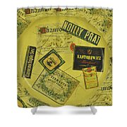 Martini Time Shower Curtain by Bill Cannon