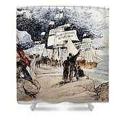 Marxism, C1891 Shower Curtain by Granger
