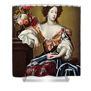 Mary Of Modena  Shower Curtain by Simon Peeterz Verelst