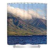 Maui Pano Shower Curtain by Scott Pellegrin