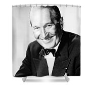 Maurice Chevalier Shower Curtain by Granger