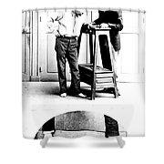 Measurement Of The Cubit, Bertillon Shower Curtain by Science Source