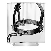 Medieval Bridle Shower Curtain by Granger