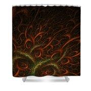 Medusa Shower Curtain by Lourry Legarde