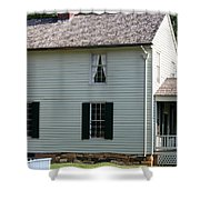 Meeks Store Appomattox Court House Virginia Shower Curtain by Teresa Mucha