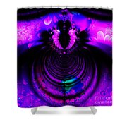Melting Pot . Square . S8a.s11 Shower Curtain by Wingsdomain Art and Photography