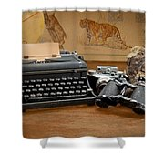 Memories Shower Curtain by Rudy Umans
