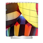 Merging Hues Shower Curtain by Alycia Christine