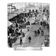 Mexico City - C 1901 Shower Curtain by International  Images
