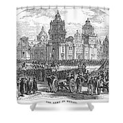 Mexico City, 1847 Shower Curtain by Granger