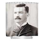 MICHAEL JOSEPH KELLY Shower Curtain by Granger