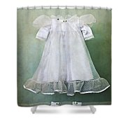 Missing Child Shower Curtain by Margie Hurwich