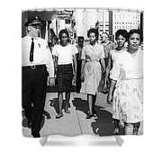 Mississippi: Sit-in, 1963 Shower Curtain by Granger