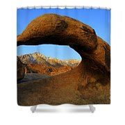 Mobius Arch California Shower Curtain by Bob Christopher