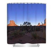 Monument Valley Shower Curtain by Mike Herdering