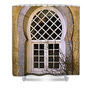 Moorish Window Shower Curtain by Carlos Caetano