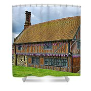 Moot Hall Aldeburgh Shower Curtain by Chris Thaxter