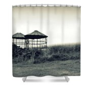 Morning Corn 2 Shower Curtain by Perry Webster