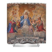 Mosaic In San Marco Square Venice Shower Curtain by Bill Cannon