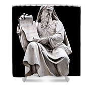 Moses Shower Curtain by Fabrizio Troiani