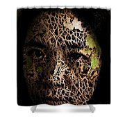 Mother Earth Shower Curtain by Christopher Gaston