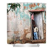 Mozambique - Land Of Hope Shower Curtain by Christopher Gaston