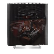 Murder By Jrr Shower Curtain by First Star Art