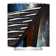 Museum Of Liverpool Shower Curtain by Meirion Matthias