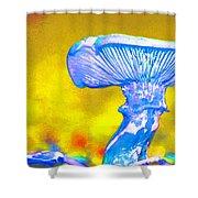 Mushroom Whimsy  Shower Curtain by Marie Jamieson