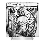 MYTHOLOGY: MERMAID Shower Curtain by Granger
