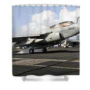 N Ea-6b Prowler Makes An Arrested Shower Curtain by Stocktrek Images