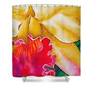 Nancy Smith Orchid Shower Curtain by Daniel Jean-Baptiste