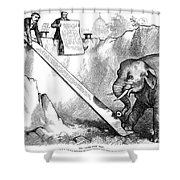 Nast: Third Term, 1875 Shower Curtain by Granger