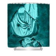 Nativity Shower Curtain by Lourry Legarde
