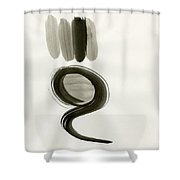 Natural Selection Shower Curtain by Taylor Pam