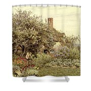 Near Hambledon Shower Curtain by Helen Allingham