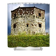 Nebojsa Tower In Belgrade Shower Curtain by Elena Elisseeva