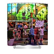 Need Money For Weed Shower Curtain by Paul Ward