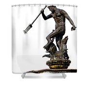 Neptune God Of The Sea Shower Curtain by Artur Bogacki