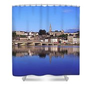 New Ross, Co Wexford, Ireland Shower Curtain by The Irish Image Collection