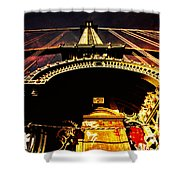 New York City Architecture Shower Curtain by Vivienne Gucwa