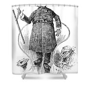 New York Policeman, 1890 Shower Curtain by Granger